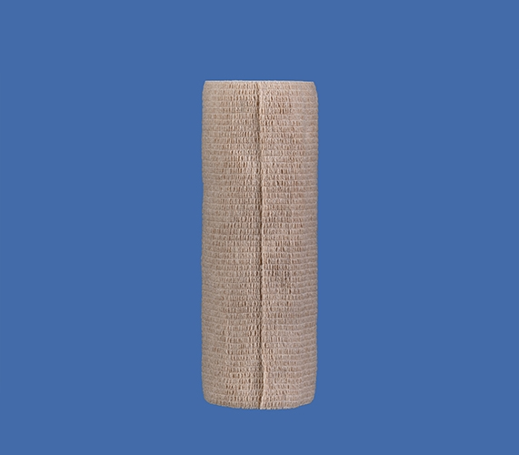 Self adhesive elastic bandage