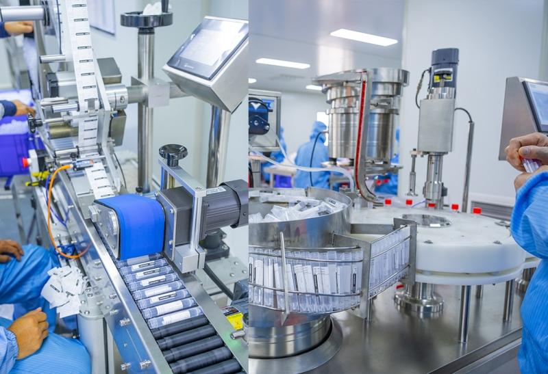 Labeling of disposable virus sampling tube